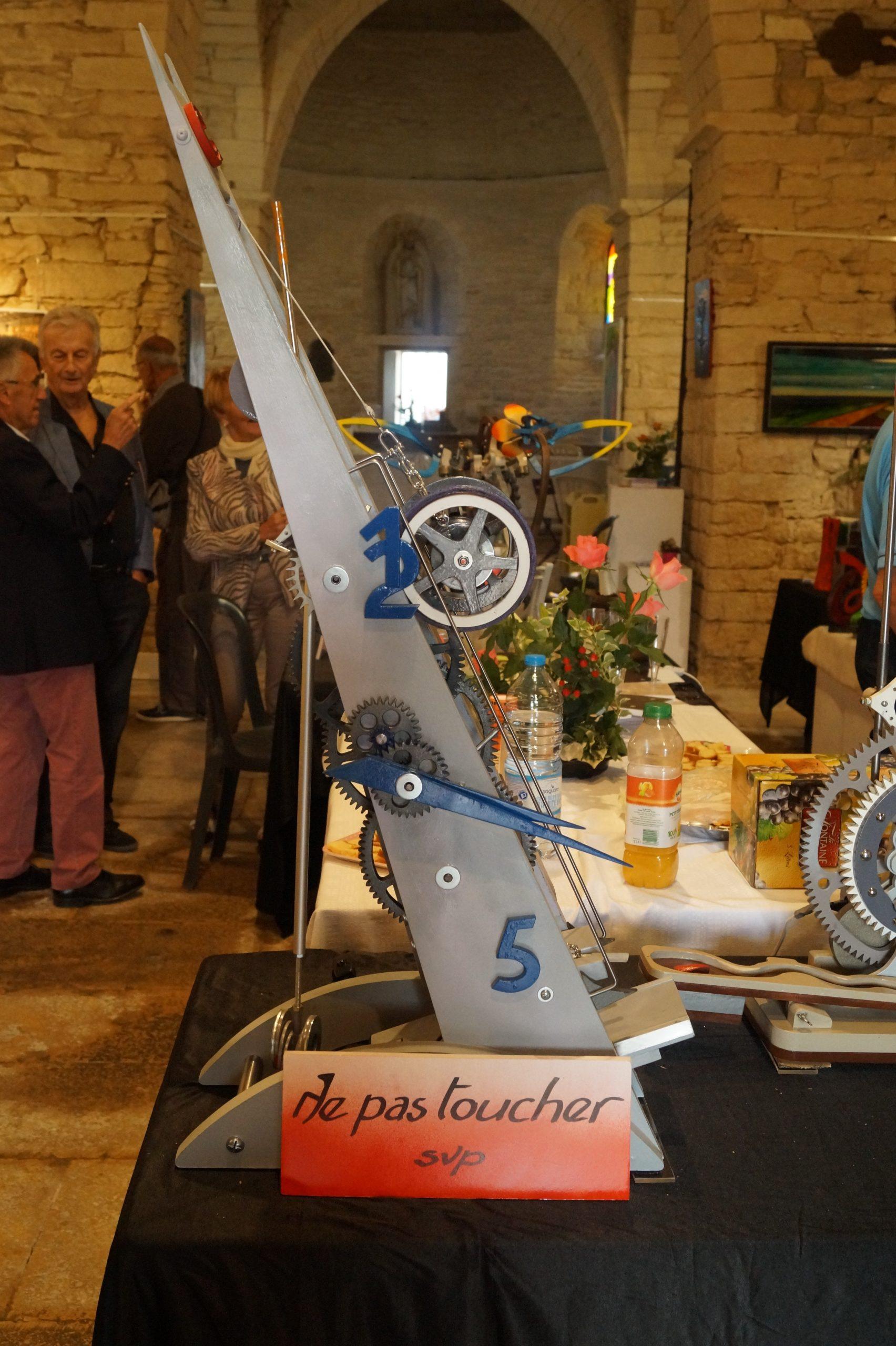Exposition de Gérard Berthoud à La Chapelle des Arts Saint Oyen Montbellet