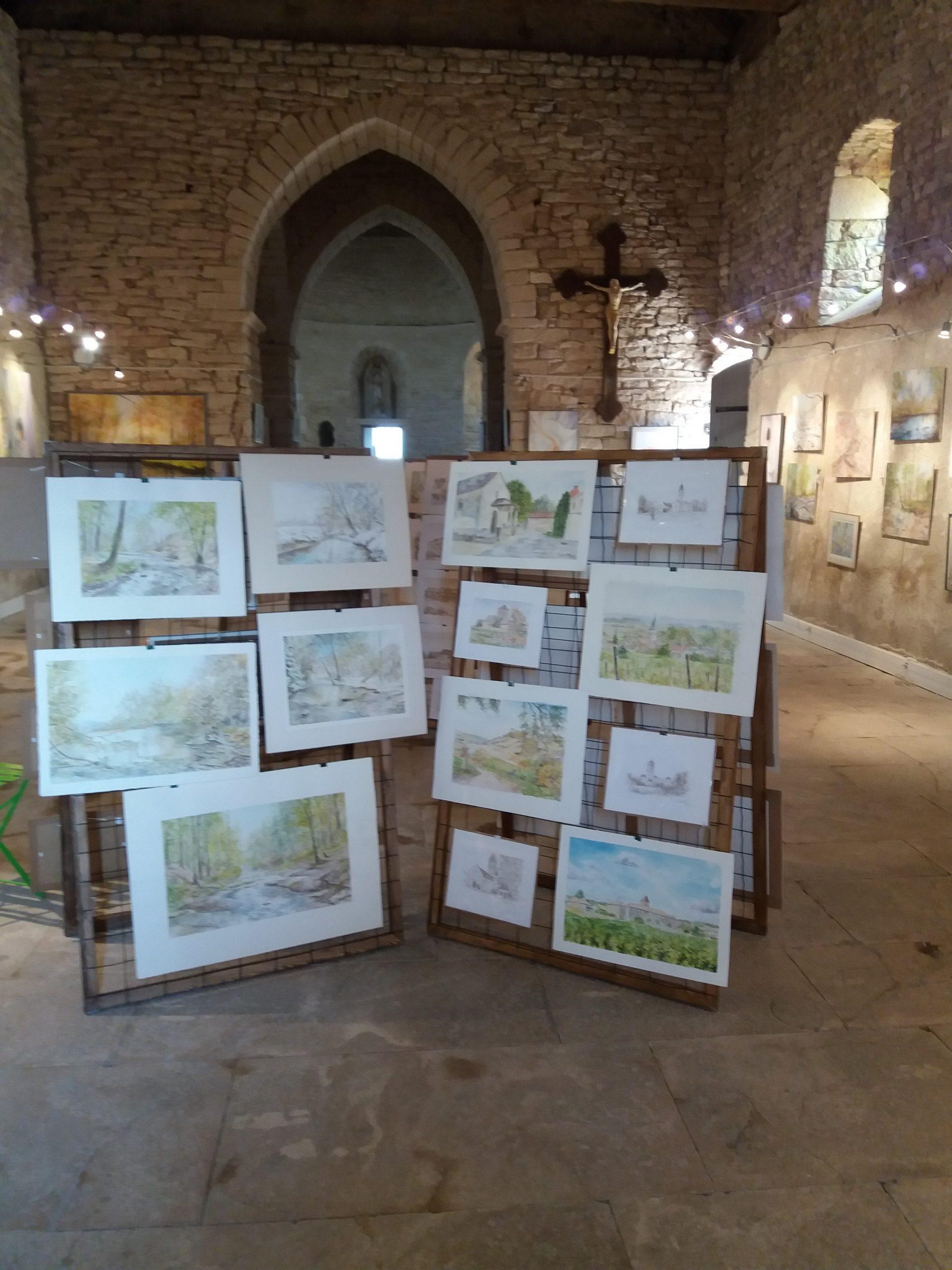 Exposition de Rémy Santailler à La Chapelle des Arts Saint Oyen Montbellet