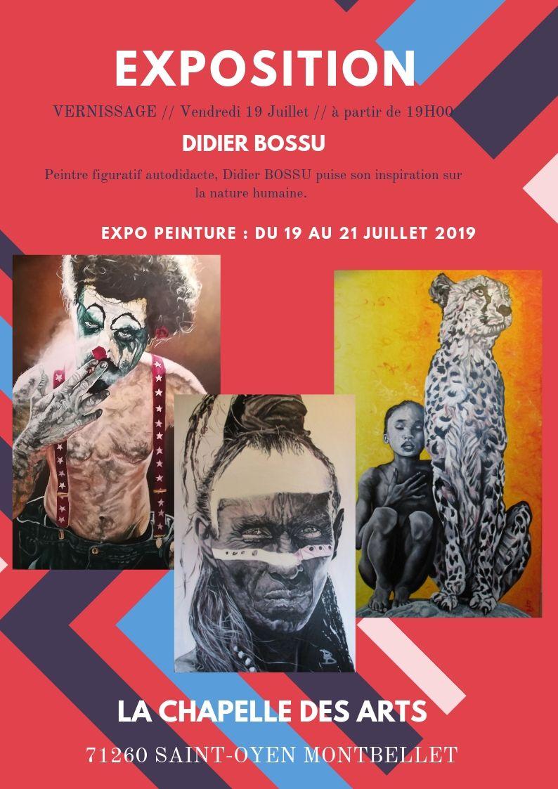 Exposition de Didier Bossu