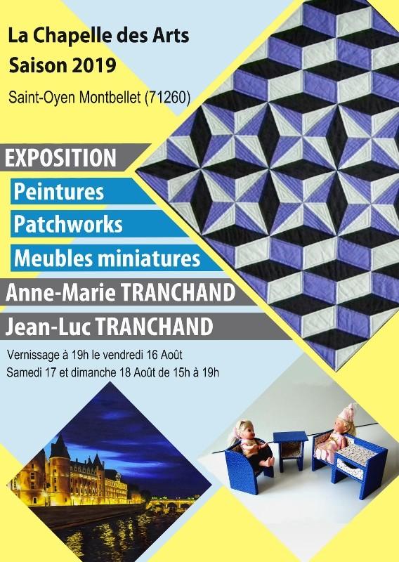 Exposition de Jean Luc et Anne Marie Tranchand