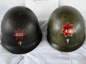 Fr._Robert_P._Galbraith_Chaplain_Helmet___Front