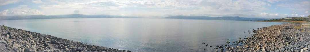 Capernum coastline view pano