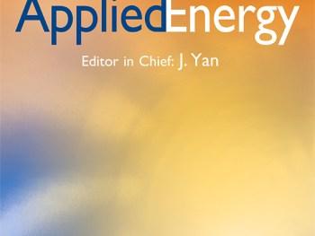 Mar 2018: New Publication in Applied Energy
