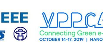 Oct 2019: IEEE VPPC 2019 Conference in Hanoi