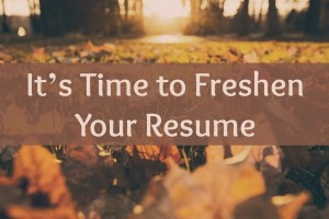 september is international update your resume month it s time to