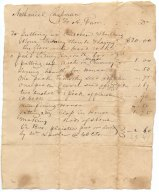 Account between Nathaniel Chapman A. Furr