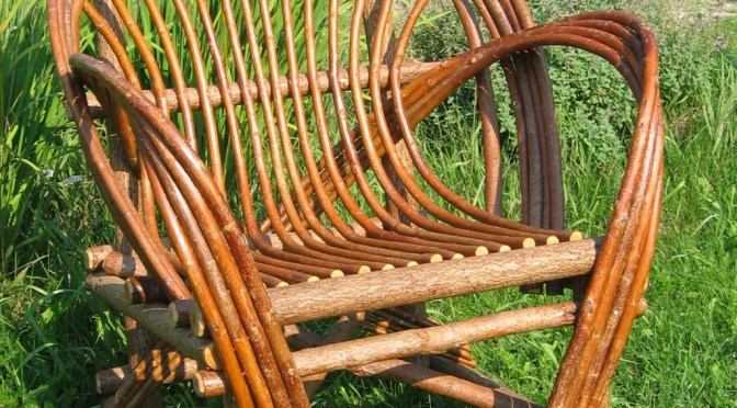 The Almost Lost Art of Bent Willow Furniture