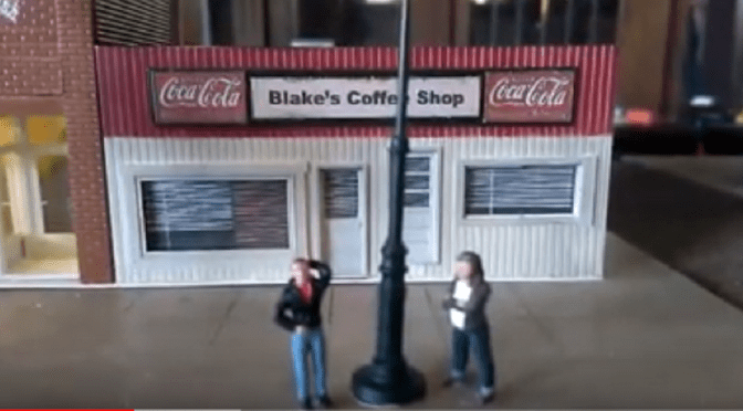 A Blake's Coffee Shop Laptop Steel Guitar