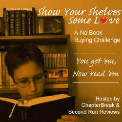 Show Your Shelves Some Love: No Book Buying Challenge