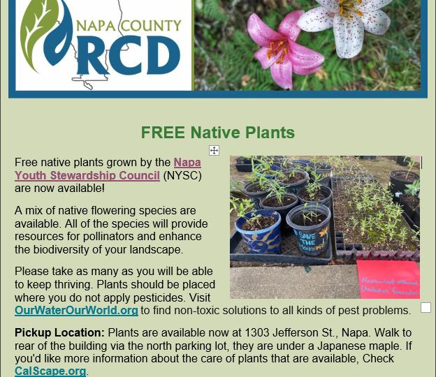 FREE Native Plants
