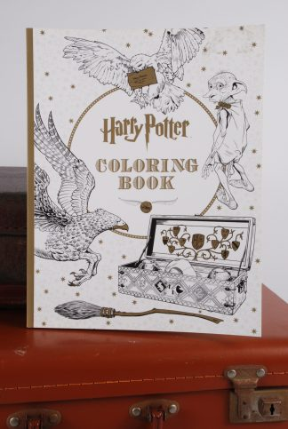 Harry Potter Colouring Book - Front Cover - Childrens