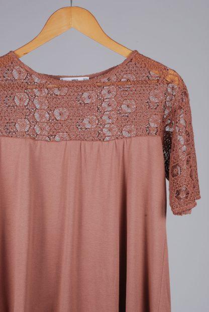 MNG Suit Crochet Top - Size S - Front Detail