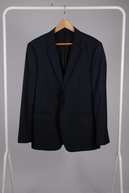 Reiss Blue 2 Piece Suit - Size 44 - Jacket