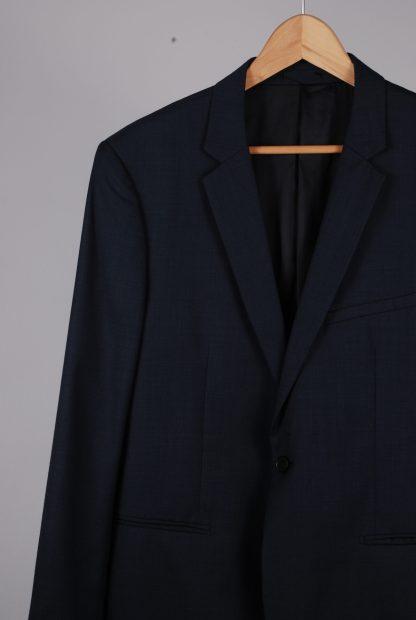 Reiss Blue 2 Piece Suit - Size 44 - Jacket Front