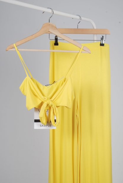 Yellow Jersey Co-Ord Set - Size 10 - Front Detail