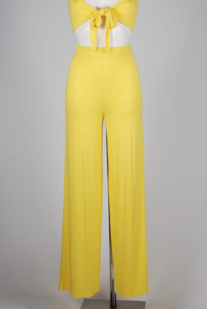 Yellow Jersey Co-Ord Set - Size 10 - Mannequin Bottoms