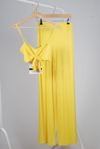 Yellow Jersey Co-Ord Set - Size 10 - Front