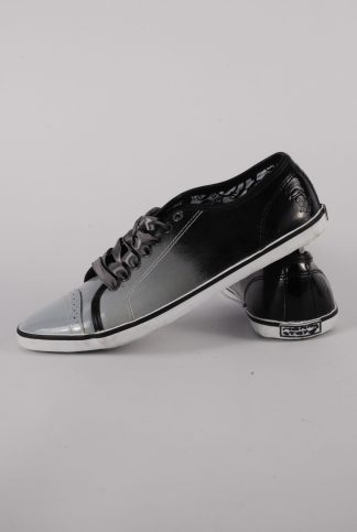 Nanny State Black & Grey Trainers - Size 4 - Side