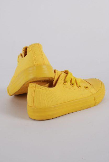 Original Marines Yellow Trainers - Size 7.5 - Heel