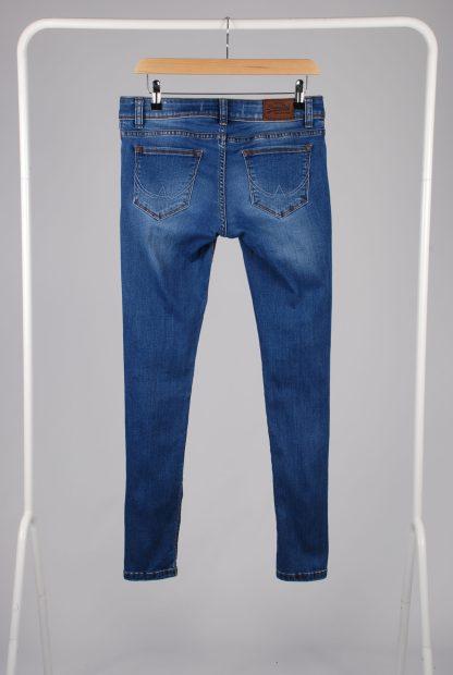 Superdry Cassie Skinny Blue Jeans - Size S - Back