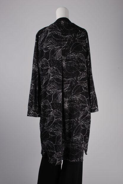 Y.A.S Leaf Pattern Jacket - Size L - Back