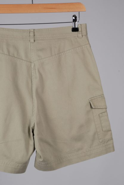 Lauren Ralph Lauren Green Cargo Shorts - Size 10 - Back Detail