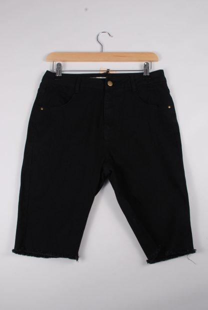 London Crew Black Shorts - Size S - Front