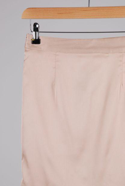 Misspap Ruched Back Mini Skirt - Size 8 - Back Detail