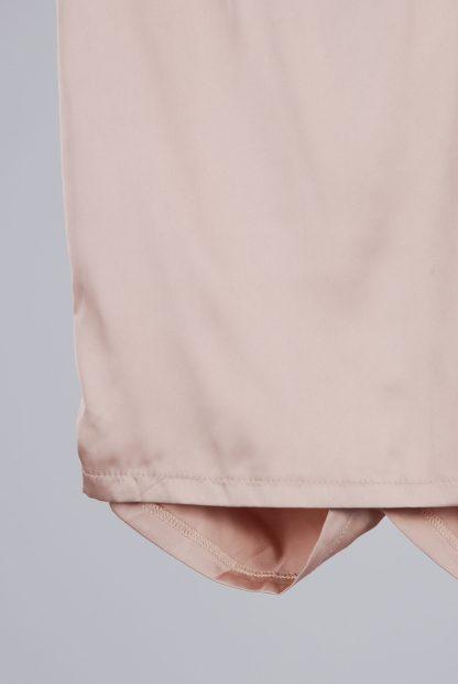 Misspap Ruched Back Mini Skirt - Size 8 - Back Hem