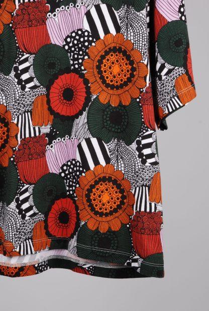 Uniqlo x Marimekko Floral Print Tee - Size L - Hem