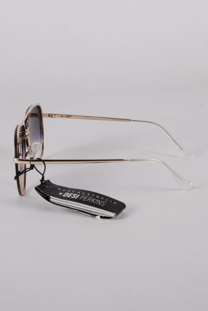 Quay Australia x Desi Perkins High Key Sunglasses - Side