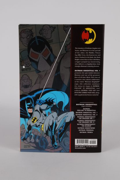 Batman Knightfall - 25th Anniversary Edition - Volume 1 - Back