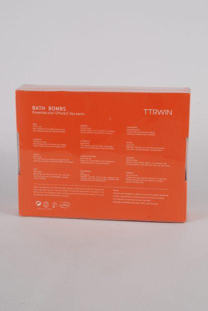 TTRWIN Bath Bombs - Back