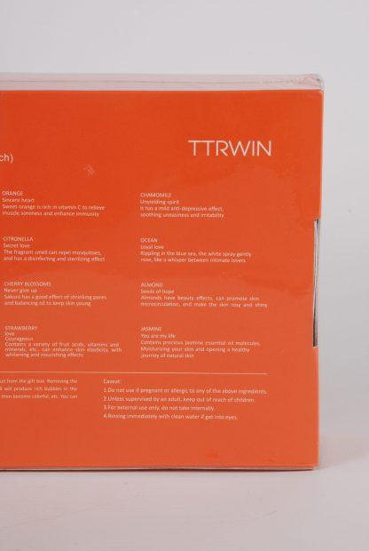 TTRWIN Bath Bombs - Back Detail