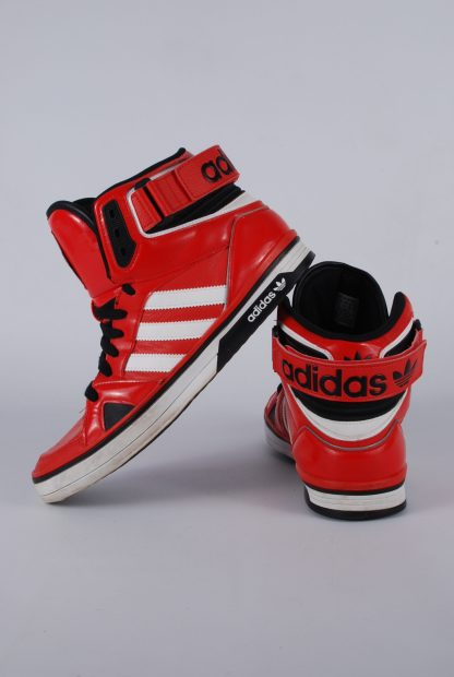 Adidas High Top Trainer Boots - Size 9 - Back & Side