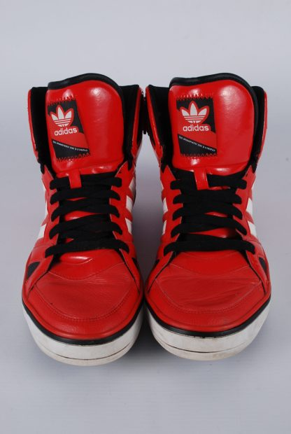 Adidas High Top Trainer Boots - Size 9 - Front