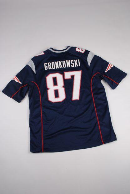 NFL New England Patriots Jersey - Size L - Back