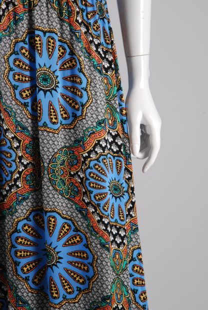 MINKPINK Abstract Pattern Maxi Dress - Size M - Front Detail