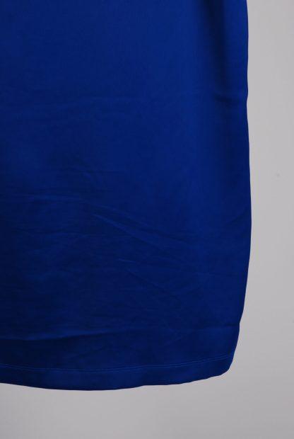 Adidas Blue Mini T-Shirt Dress - Size 12 - Back Hem