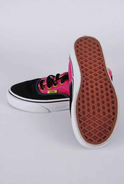 Vans Neon Pink & Green Trainers - Size 2 - Sole
