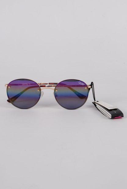 Quay Australia Farrah Rainbow Sunglasses - Front