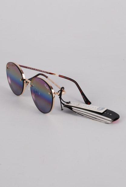 Quay Australia Farrah Rainbow Sunglasses - Side