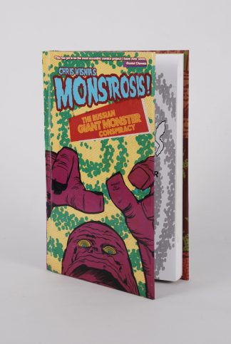 Chris Wisnia's MONSTROSIS! - The Russian Giant Monster Conspiracy - Front