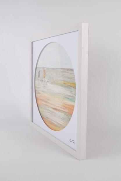 Sam Toft Framed Print - Side