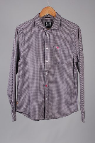 Weekend Offender Gingham Shirt - Size M - Front