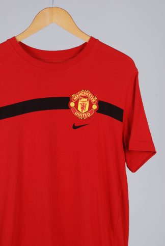 Nike Slim Fit Manchester United Tee - Size L - Front Detail