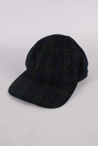Kangol Green & Blue Tartan/Plaid Cap - Front