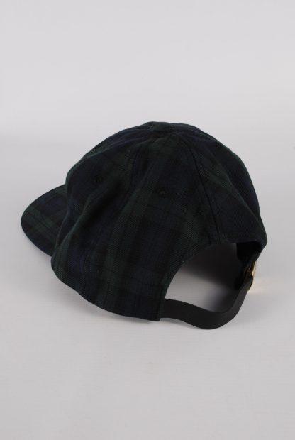 Kangol Green & Blue Tartan/Plaid Cap - Back