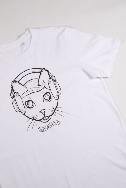 Purr-Aid 2021 T-Shirt - Alan Pawtridge - Flatlay