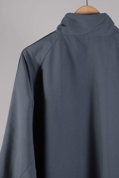 Adidas Grey Panelled Sports Jacket - Size 2XL - Back Detail